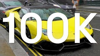 We made it to 100K - Supercars On The Streets