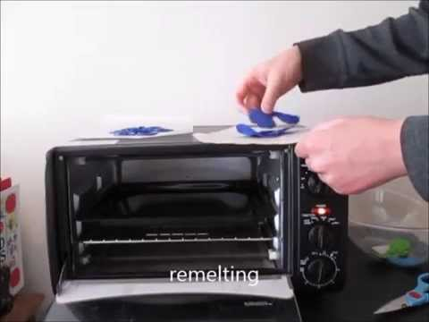 Melting LDPE - home plastic shaping 2