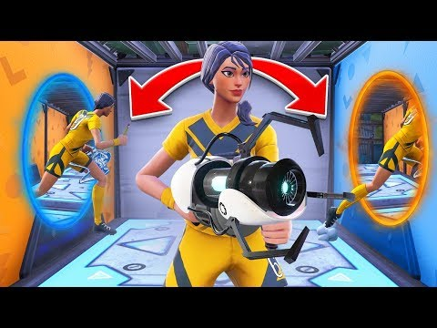 PORTALS IN FORTNITE (Insane Creative Map!)