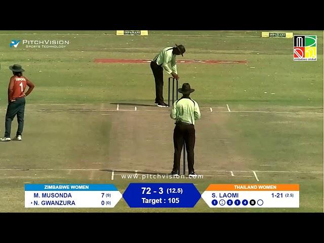 Zimbabwe Women vs Thailand Women | 1st T20I