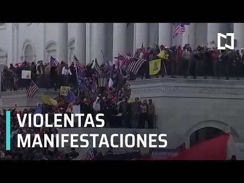 Suspenden sesión en EEUU por protestas