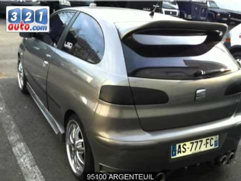 occasion seat ibiza argenteuil youtube. Black Bedroom Furniture Sets. Home Design Ideas