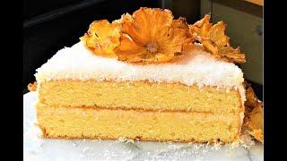 Кокосовый торт  безумно вкусный рецепт от  Dovna Enterprises coconut cake
