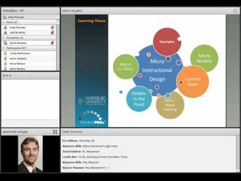 Micro Instructional Design Webinar