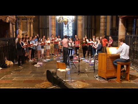 The Girls' Choir And Lay Clerks Of Canterbury Cathedral Record Henry Purcell: Sacred Music