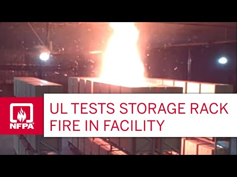 Underwriters Laboratories Fire Test Youtube