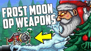 Terraria Frost Moon OP WEAPONS! | Most Powerful Event Weapons! | PC | Console | Mobile