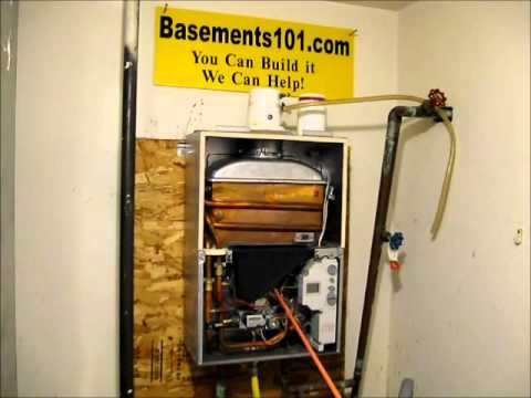 how a gas tankless water heater works youtube. Black Bedroom Furniture Sets. Home Design Ideas