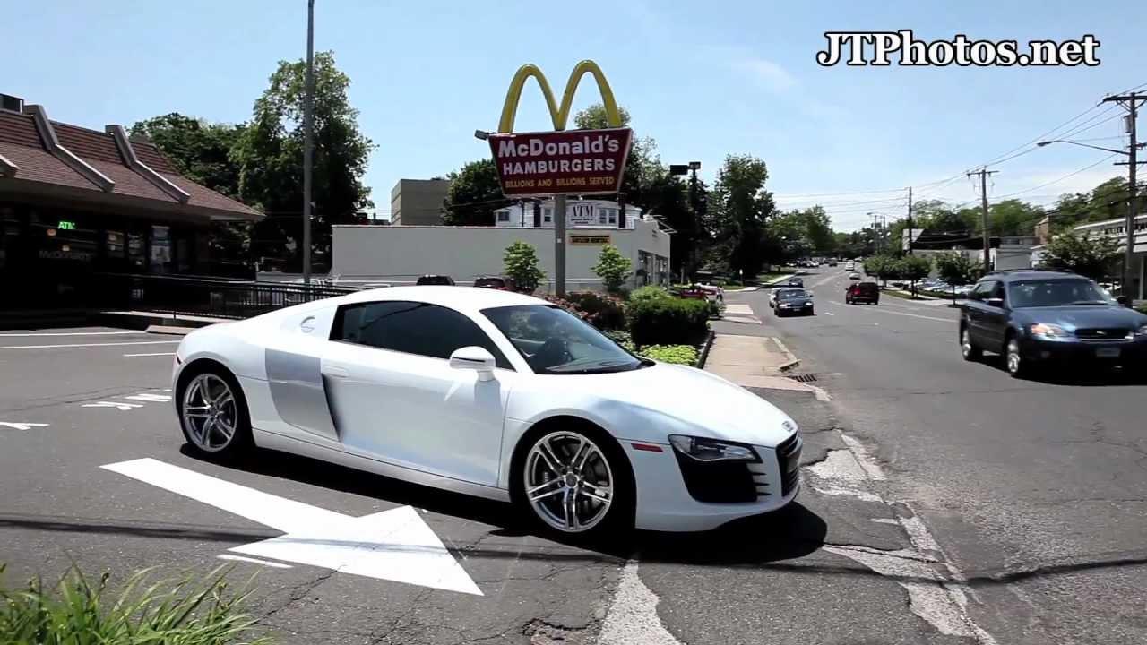 Audi R Getting Food At McDonalds YouTube - Mcdonald audi