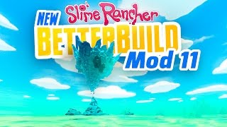 FLOATING CRYSTAL CAVE RUINS - New Slime Rancher BetterBuild Mod Ep 11  Slime Rancher Mod BetterBuild