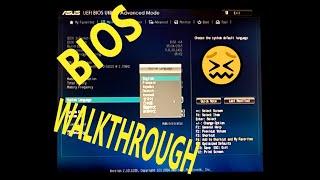 aSUS H81M-K BIOS setup