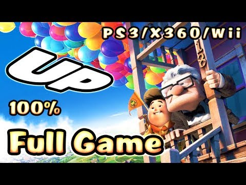 Disney Pixar's UP FULL GAME Movie 100% Longplay (PS3, X360, Wii)