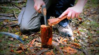 How to find and make Fatwood fire sticks & kindling wood for firestarting