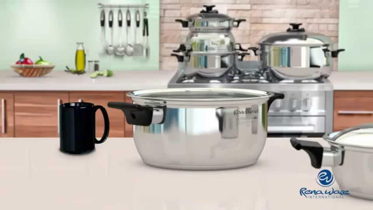 Rena ware los utensilios hablan por si mismos youtube for Precios de utensilios de cocina rena ware
