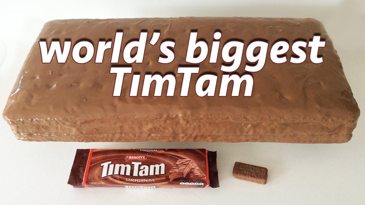 How To Make A Tim Tam Cake