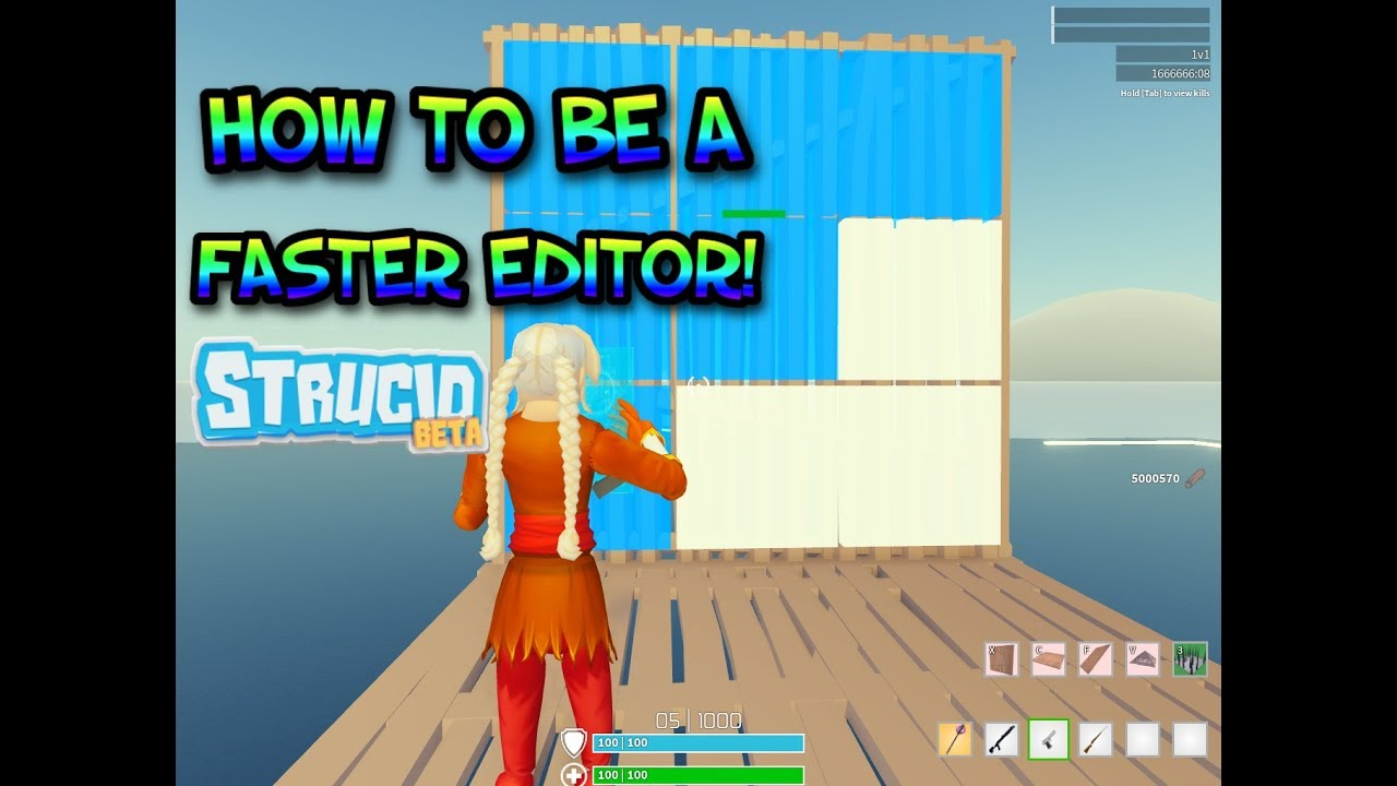 HOW To Become FASTER Editor In Strucid (+ KEY BINDS and ...