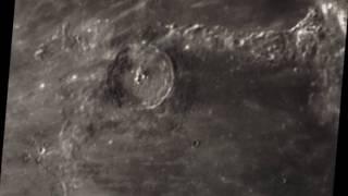 Moon   Eratosthenes & Montes Apenninus エラトステネスとアペニン山脈付近