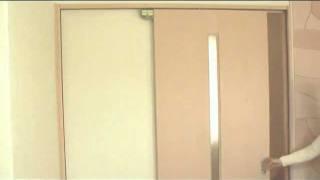 節電 冷房 暖房 エアコン 引き戸(引戸)を自動で閉めるドアクローザー thumbnail
