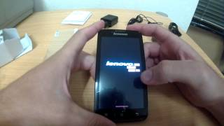 lenovo a328 unboxing