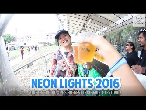 Neon Lights 2016 - One of Singapore's Biggest Indie Music Festival! Mp3