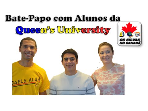 Bate-papo com alunos da Queen's University - Kingston-ON Canada
