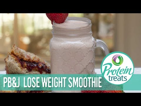 Peanut Butter & Jelly Smoothie Protein Treats by Nutracelle
