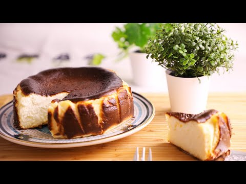 巴斯克乳酪蛋糕- -basque-burnt-cheesecake- -gâteau-au-fromage-basque-/-cheesecake-basque-(brûlé)