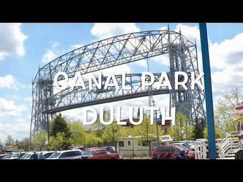 Canal Park Duluth Minnesota & Superior Wisconsin