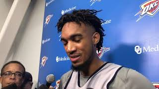 Thunder - Terrance Ferguson on Game 3