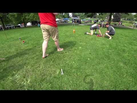 Ohio Kubb Semi Finals Hager Club vs Kubb Snipers