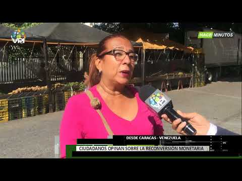 Venezuela -Venezolanos afirman que la reconversión monetaria genera mayor angustia  - VPItv