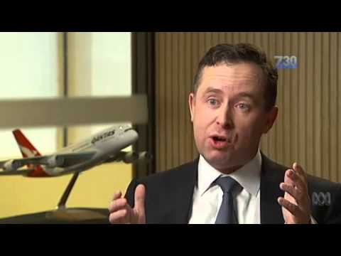 Alan Joyce 7.30 report 28-8-2014 Do you believe Alan Joyce?