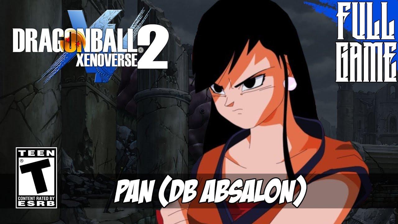 Video - 【DBXV2 MOD】PAN FROM DRAGON BALL ABSALON STORY MODE PC - HD