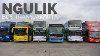 MODERN BANGET Jenis dan Isinya Bus Transjakarta