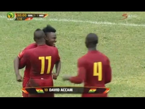 Ghana vs Mauritius 7-1 Full Match Highlights • African Nations Cup 14.06.2015
