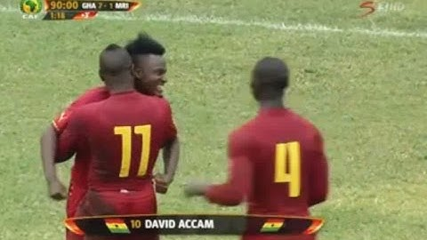 ghana vs mauritius 71 full match highlights  african nations cup 14062015