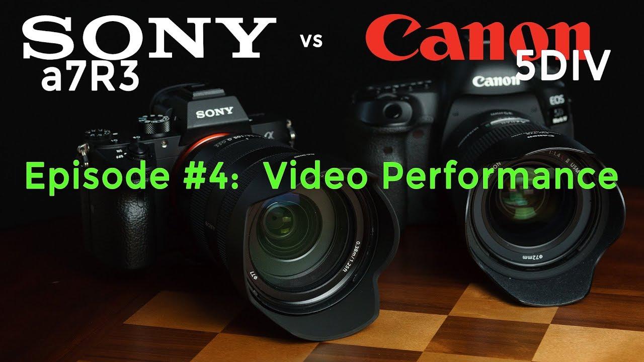 Sony A7r3 Vs Canon 5div Part 4 Video Performance 4k Youtube Camera Lens Parts Diagram Nikon Related Keywords