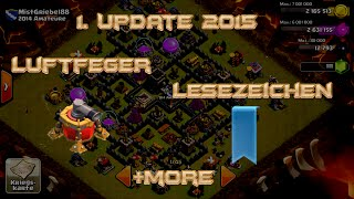 """Lets Play Clash of Clans #36 """"Update 2015-Air Sweeper,Name ändern,Lesezeichen,..."""" [HD] GER/DEUTSCH"""