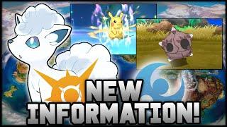 POKEMON SUN AND MOON: NEW POKEMON, ALOLA FORMS AND Z MOVES REVEALED! New Pokemon Sun and Moon Info!