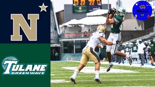 Navy vs Tulane (INSANE GAME)   College Football Week 3 Highlights   2020 College Football Highlights