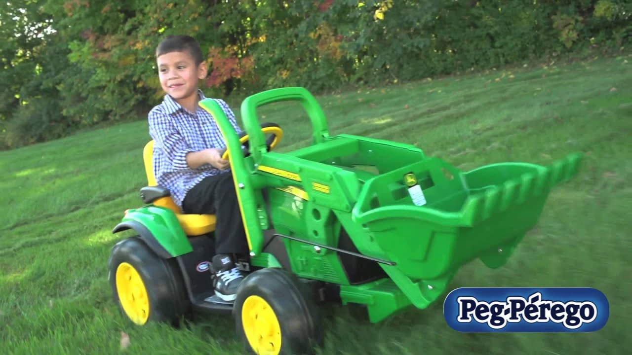 Peg Perego John Deere Ground Loader Youtube