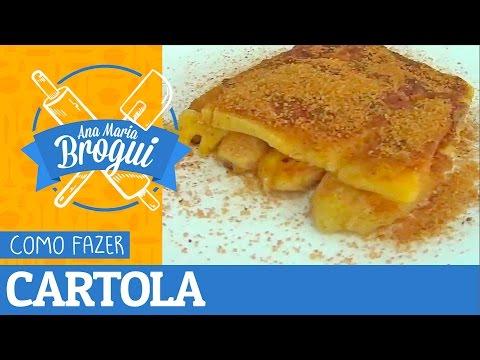 COMO FAZER A CARTOLA (SOBREMESA TRADICIONAL DE RECIFE) | Ana Maria Brogui #251