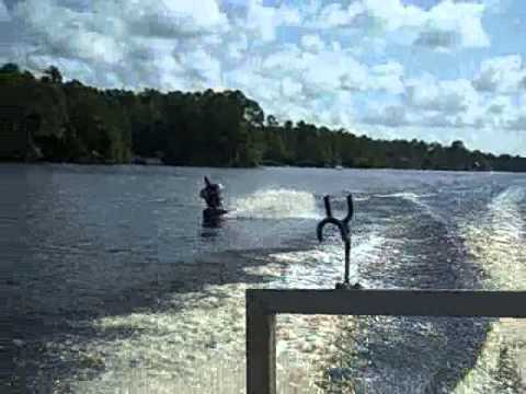 Boiling Springs Lakes Nc Bookie Boarding On The Big Lake