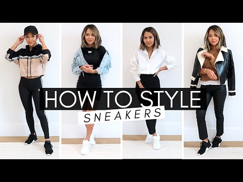 How to Style Sneakers - YouTube