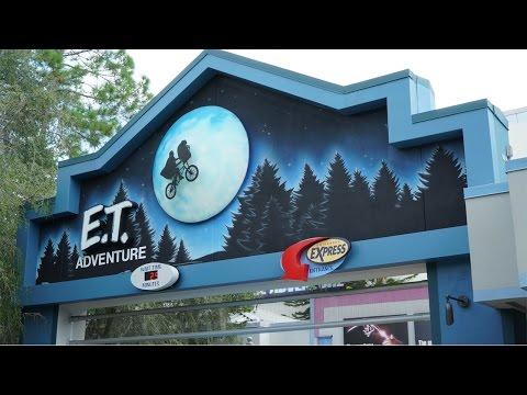 Universal Studios Orlando Rides   E.T. Adventure FULL Ride POV   FL Attractions 360