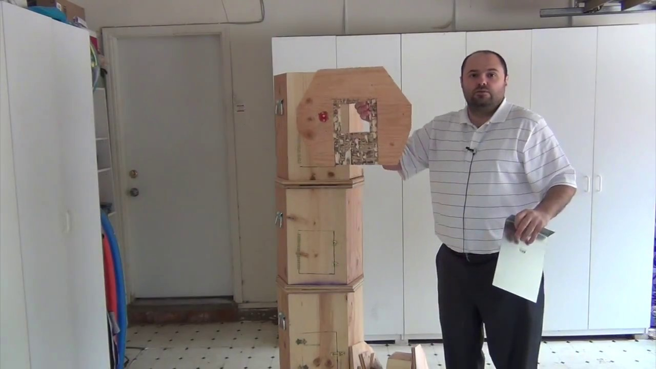 The Armenian Hive Hands Free Beekeeping In Youtube Wiring Board