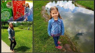 VLOG: Как мы сходили в Ашан/ Гуляем на новой детской площадке