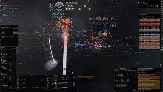 Eve Online - H-5GUI - NC. Keepstar Avatar Erebus Nyx Kill