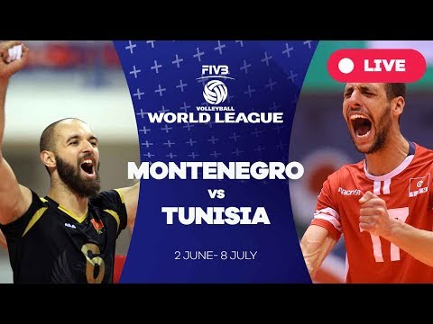 Montenegro v Tunisia - Group 3: 2017 FIVB Volleyball World League