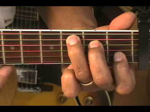 Guitar Guitar Chord Tutorial #42 How To Play Chords Capo 3 Am7 Fmaj7 ...